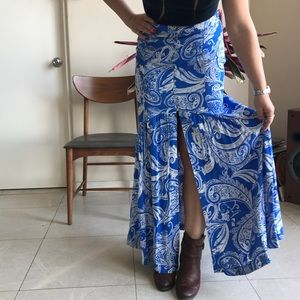 Free People Skirts - Free People Maxi Skirt with slit